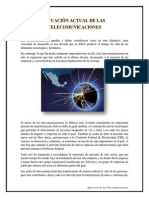 Situacion Actual de Las Telecomunicaciones - Elizabeth Perez Olguin