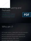 iPhone Fuzzing and Payloads