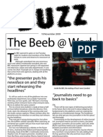 The Buzz Newsletter - 18th November 2009