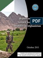 October_2011_Report on Progress Afg