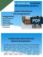 Corrosion Por Microorganismos
