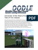 SLOODLE Case Study