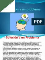 Solución a Un Problema
