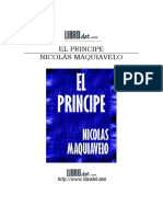 Maquiavelo (Niccolò Di Bernardo Dei Machiavelli) - El Príncipe