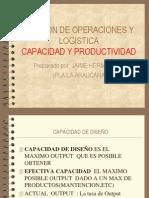 Capacidad y Productividad