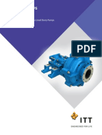 Goulds Model XHD - Heavy Duty Slurry Pump