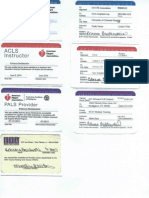emergency cert cards