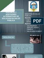 PPT MAESTRIA Violencia y Adiccion
