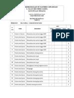 Jadual Spesi Ujian - Math 1