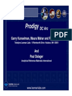 Prodigy Dc Arc Pittcon 09 Presentation