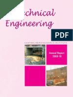 CRRI Annual Report Year 2009 - 10