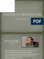 Masters of Architecture(Asian)