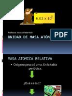 Unidad de Masa Atómica