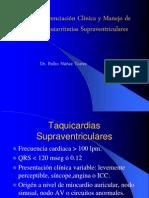 Diferenciación Clínica y Manejo de Taquiarritmias Supraventriculares II