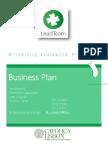 leadteam businessplan