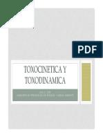 Toxocinetica y Toxodinamica Clase3