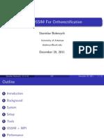 Ossim Application