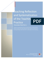 Reflection and Systematization of the Teaching Practice by Rhina Benitez