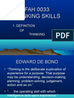 l1 - Definition of Thinking