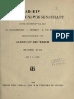 Gothein-1906-Der Gottheit Lebendiges Kleid