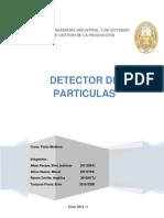 Trabajo Detectores