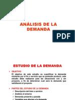 3. Análisis de La Demanda