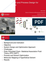 In Silico Solvent and Process Design for Carbon Capture-PhD Updrage Seminar
