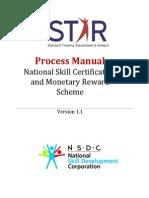 STAR Scheme Process Manual v 1 1
