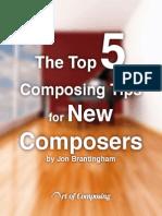Top 5 Composing Tips