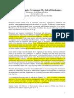 Enterprise Governance - Role of Gatekeepers_AHZ