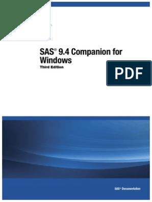 SAS® 9 4 Companion for Windows | Parameter (Computer