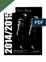 River Valley Dance Academy 2014-2015 Registration Brochure