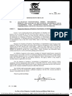 Request for Clearance - IRR of RA10154