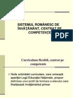 Curriculum Flexibil, Centrat Pe Competente