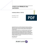 Alcatel Lucent RRH60 21C Site Specification V02.01 Dec10