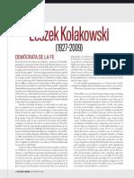 Kolakowski (1927-2009) (Krauze)