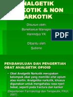 Analgetik Narkotik & Non Narkotik Ppt