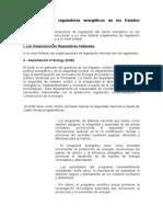 Regulacion Federal y Estatal