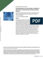 Nanotoxicology Volume issue 2013 [doi 10.3109%2F17435390.2013.802821] Conde, João; Larguinho, Miguel; Cordeiro, Ana; Raposo, Luis R old-Nanobeacons for gene therapy- evaluation of genotoxicity, cell toxicity and prote