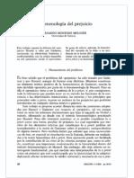 Fenomenologia Del Prejuicio (Montero)