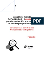 Manual del método CoPsoQ-istas21