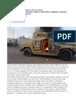 4 Report Jihadists in Iraq and Intelligence USA