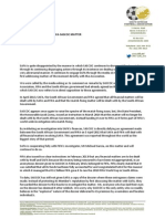 Open letter – Dennis Mumble on Safa-Sascoc relationship