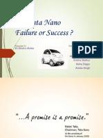 tata nano failure or success