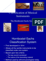 Honrbostel and Sachs System 2014