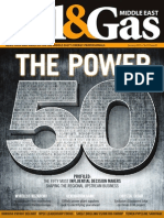 Oil & Gas Magazines With Top 50 Powerful Names in ME