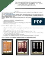 Jual Sketsel - Jual Pembatas Ruangan - Jual Partisi Ruangan - Jual Penyekat Ruangan - Sketsel Modern Nan Minimalis