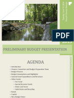 6.10.14 Work Session Presentation FY 2015 Preliminary Budget Presentation