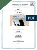 Factura y Notas de Credito Monica 8.5