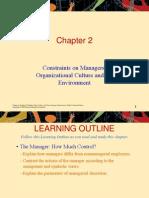 Ch 2 Org Culture